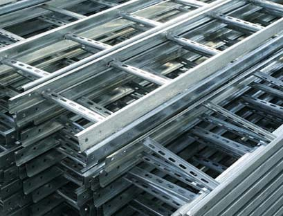 Ladder Cable Trays - MS / GI / Steel / Aluminium Material