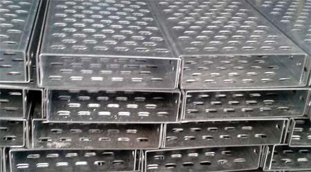 Perforated Cable Tray - MS, Steel, aluminium material
