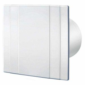 Flat plate look, UV Resistant, Ceiling mount exhaust fans for toilet, bathroom