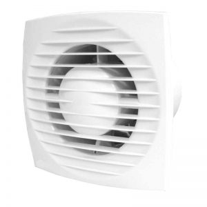 Small Size, low noise exhaust fan for ceiling, wall mount with dampers
