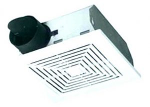 UV Resistant, low noise with damper small size fan for exhaust , with plenum