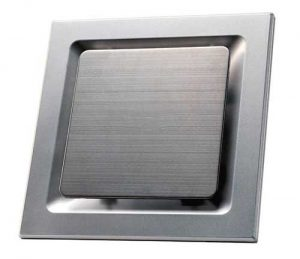 Silver Plated exhaust fan for ceiling mount in toilet, bathrooms, kitchens