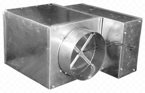 variable air volume VAV terminal box for pressure, flow, temperature control and automation