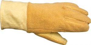 kevlar gloves with paraarmid shell, woolen lining, finger type