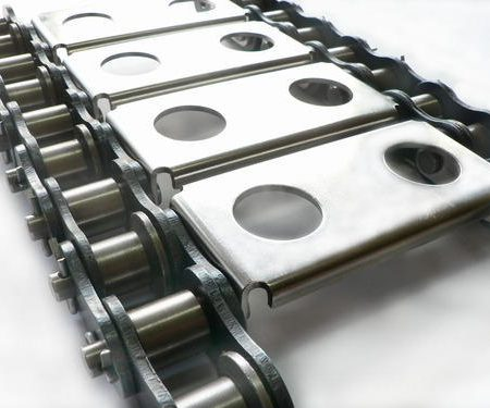 Conveyor chain for coal, buggages, material handling, food, pharma