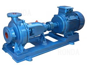 Closed coupled end suction centrifugal pumps