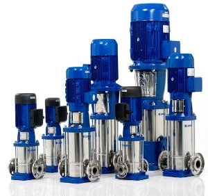 Vertical, horizontal, submersible mount, multi stage pumps